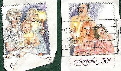 Australia Post Stamp Christmas 1987 - 2 from series of 7