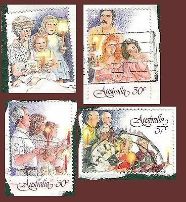 Australia Post Stamp Christmas 1987 4 from 7