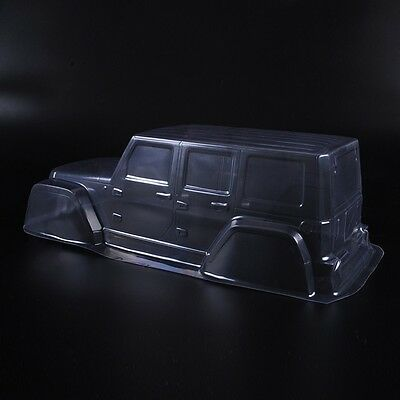 313mm Clear  PVC Body Shell Cover Paintable For 1/10th  Scale  RC Crawler Car
