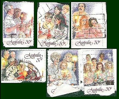 Australia Post Stamp Christmas 1987 6 from 7