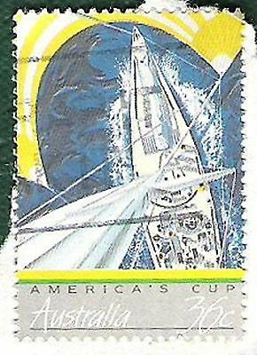 Australia Post Stamp 1987-America's Cup Win 1 of 4