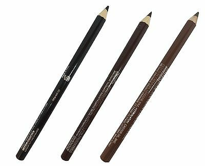 Saffron Waterproof Eyebrow Pencil - Black, Dark Brown or Blonde