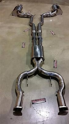 Hsv V8 Ve Vf Gts R8 Clubsport Senator Sedan 3 Inch Cat Back Exhaust Stainless