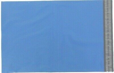 """Blue Coloured Poly Postal Bags Parcel Bags Large Letter 250X350mm 10"""" x 14"""" Mail"""