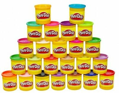 Play Doh 24 Pack Of Colors Fun Molding Dough Toys Set Endless Color Combinations