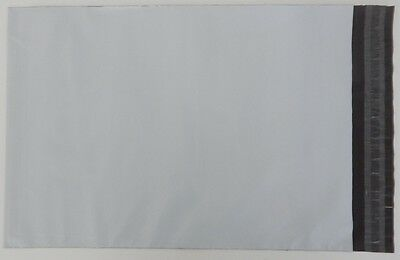 """White Poly Postal Bags Parcel Bags Large Letter 250X350mm 10""""x14"""" Mailing Sacks"""