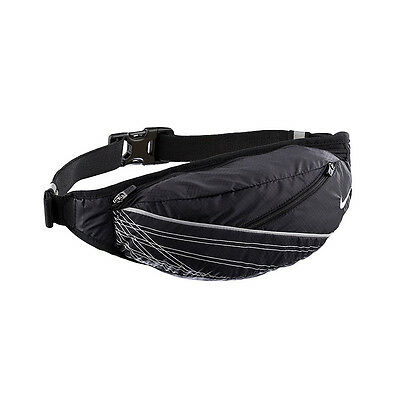NIKE Light Weight Running Slim Belt Jogging Waist Pack Pouch Sports Holder Bag