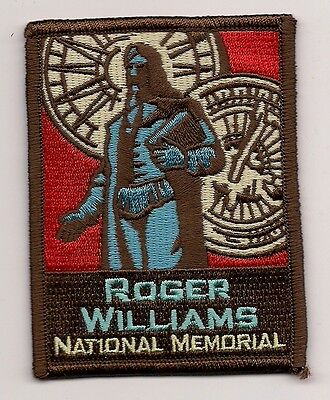 Souvenir Patch - Roger Williams National Memorial, Providence Rhode Island