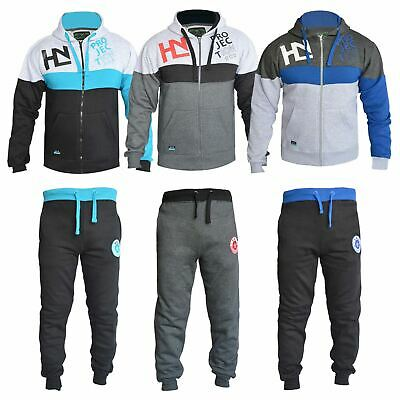 Boys Girls Designer Tracksuit Zipped Top Bottoms Kids Jogging Suits 7-13 Years