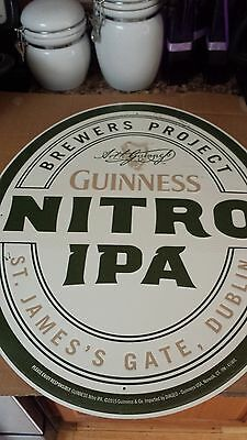 Guinness Nitro IPA Metal Sign