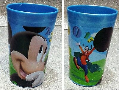 Disney Topolino Mickey Mouse Bicchiere In Plastica Plastic Glass Club House