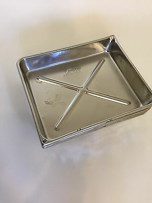 """Stainless Steel Photography Developing Trays 8"""" x 10"""""""