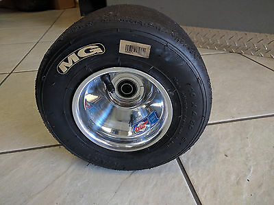 Yamaha Banshee Raptor Yfz Wheelie Bar Wheel And Tire Drag Polished