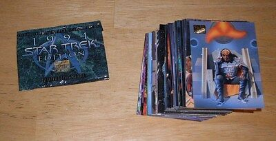 Star Trek 1994 Edition Master Series Trading Card Set 100 Pc by Skybox