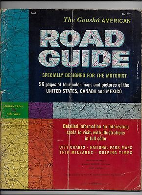 The Gousha American Road Guide 1959 United States Canada Mexico