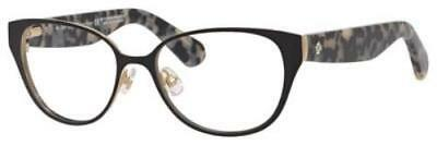KATE SPADE Eyeglasses JAYDEE 0RSA Black Havana 49MM