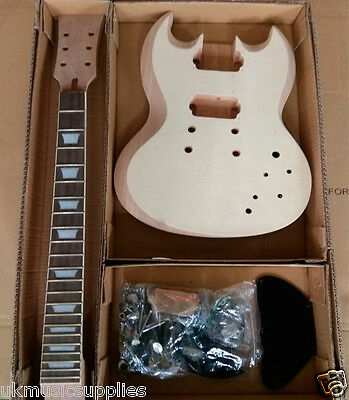 Coban Student & Luthier SG Electric Guitar HY360 DIY Kits Mahogany body
