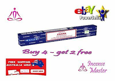 Prana Incense Stick Satya Sai Baba Nag champa 15g X 1pack + FREE SAMPLES