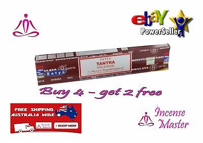 Tantra Incense Stick Satya Sai Baba Nag champa 15g X 1pack + FREE SAMPLES