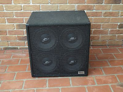 """Professional Ebony Quad Box for Stage PA, Studio, Concert SPEAKERS with 4X10"""""""