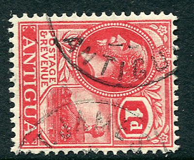 ANTIGUA: (1266) very rare ST. JAMES postmark/cancel