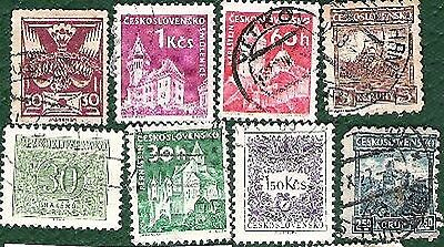 Postage stamps - Czechoslovakia - 16 stamps