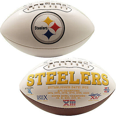 Pittsburgh Steelers Full Size NFL American Football Signature Series Ball