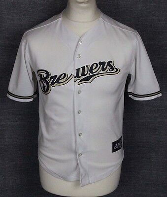Hart #1 Vintage Milwaukee Brewers Baseball Jersey Shirt Majestic Youths