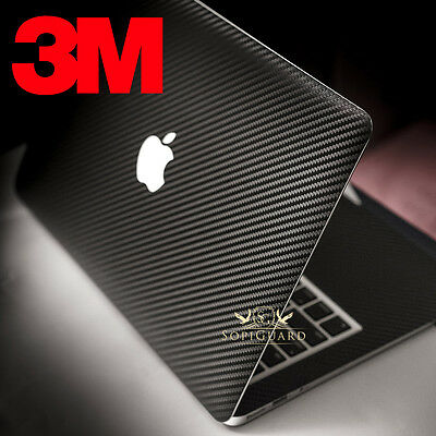 SopiGuard 3M 1080 Carbon Fiber Skin for Apple Macbook for 13 Pro 15 12 Air 11