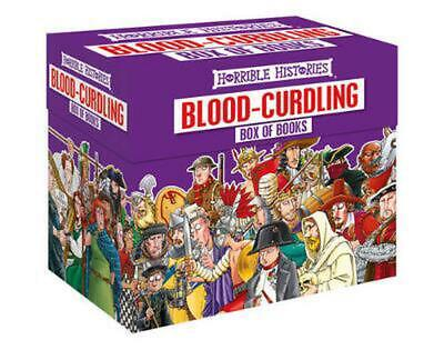 Horrible Histories Blood Curdling Box by Terry Deary Paperback Book Free Shippin