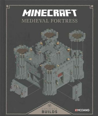 Minecraft: Exploded Builds: Medieval Fortress by Egmont UK Ltd Hardcover Book