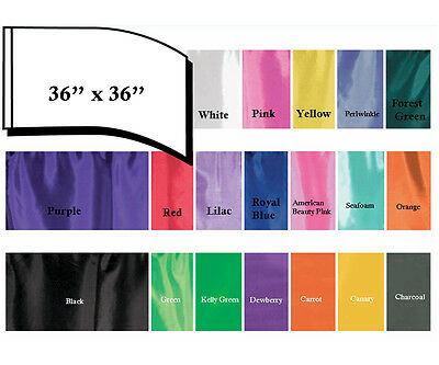 Praise & Worship Flags 36'' x 36'' with out poles  1 pc All colors available