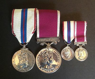 1977 Jubilee Medal and LS&GC Medal to SSGT A Duncan WRAC
