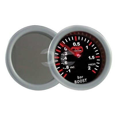 Manometro Turbo Auto Tuning Guru Pro Diametro 52Mm Pressione Strumento Turbina