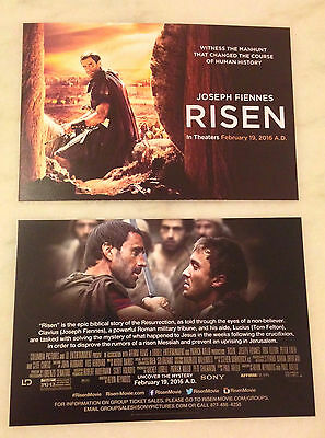 RISEN (2016) Movie Card; Lot of 35; Great For Church Group Giveaways! BRAND NEW