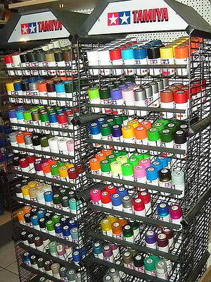 Tamiya Color Spezial Acryl-Harz-Spray TS-Farben / Matt / Seidenmatt / 100ml Dose