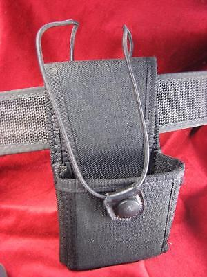 """Radio Holder Uncle Mikes Sidekick Size 2 Carry Case with Swivel 2-1/4"""" Belt loop"""