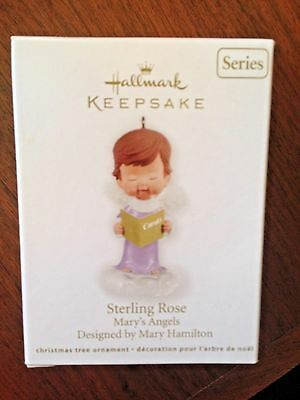 Hallmark 2012 Mary's Angels Sterling Rose # 25