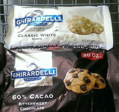 Ghirardelli Chocolate ~ Premium Baking Chips – Assort. Varieties