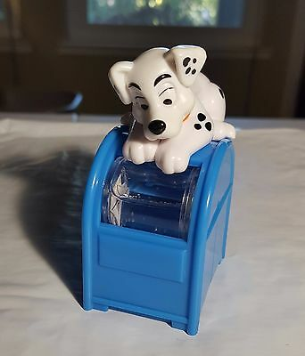 McDonalds Happy Meal Toys 102 Dalmatians 101 DALMATIONS DOGS Shaker Mailbox #32