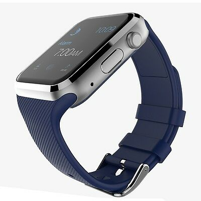 GD19 Smart Watch Android Bluetooth Carte SIM (BLEU]