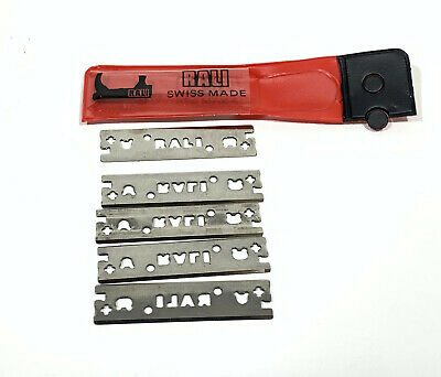 Rali Hand Plane Blades - for Smoother & Block - 48mm - Packet 5 pcs - S3535