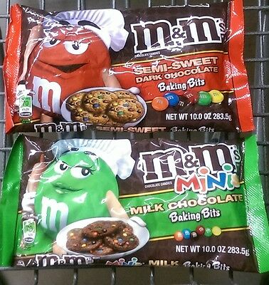 M&M's ~ Baking Chips – Pick Yours!