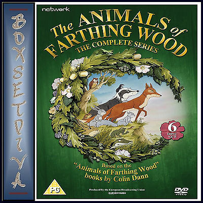 The Animals Of Farthing Wood - The Complete Series  *Brand New Dvd**