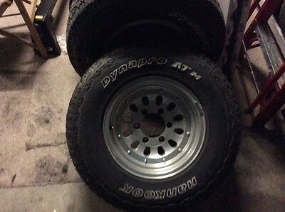 4WD tyres and rims
