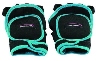 Empower MP-3276R Women's Weighted Fitness Gloves (1-lb)