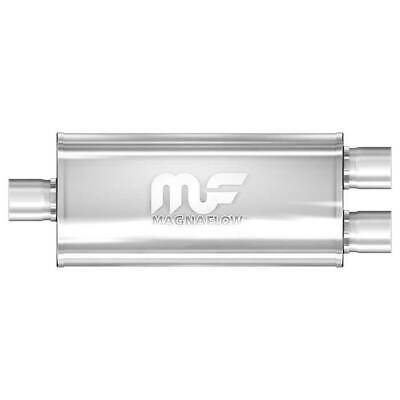 "Magnaflow 12398 Performance Muffler 3/"" Center//Dual 5x8x24 Oval Satin Stainless"
