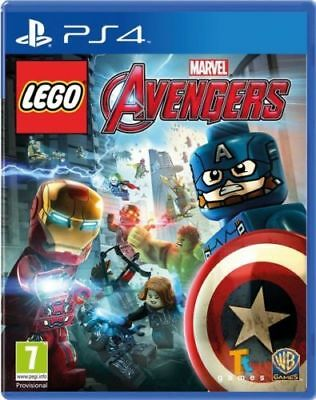 LEGO Marvel Avengers PS4 Playstation 4 Game Brand New In Stock From Brisbane