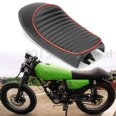 Black Hump Motorcycle Seat Saddle Cover For Honda CB200 CB350 CB400 CB500 CB750