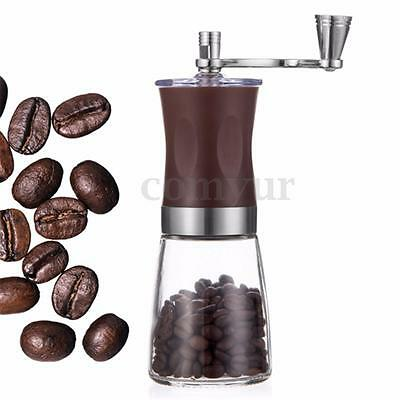 Mini Portable Manual Hand-Crank Coffee Bean Spice Hand Grinder Mill Kitchen Tool